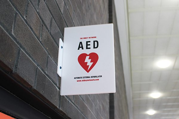 There are over 1,500 AEDs in Toronto. Photo courtesy of U of T Engineering.