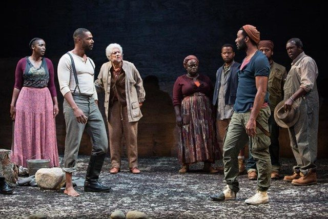 A scene from Soulpepper's production of Father Comes Home From The War. Photo by Cylla Von Tiedmann.