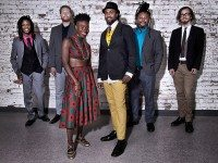 d'bi young anitaafrika appears at the SummerWorks Festival this year with her band, the 33 (pictured), and in the post-apocalyptic theatre shows Bleeders. Photo by Anthony Macri.
