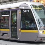 A Dublin LRT train. Photo by Madigan Wood.