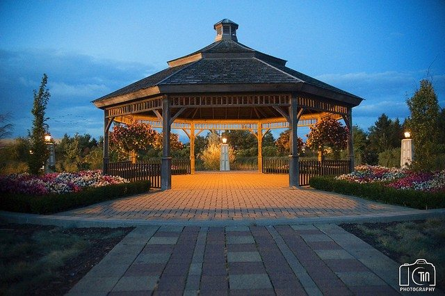 Gazebo at Richmond Green Park. Photo by CTINphotography from the Torontoist Flickr Pool.