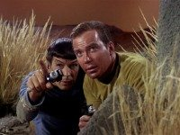 "Still from the Star Trek episode ""The Man Trap."""