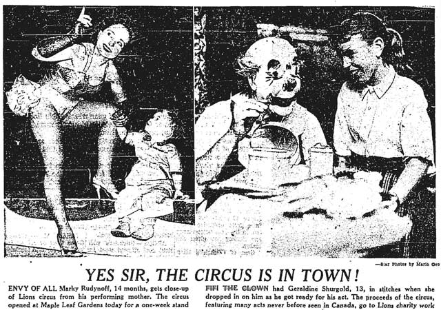 From the September 26, 1960 edition of the Toronto Star.