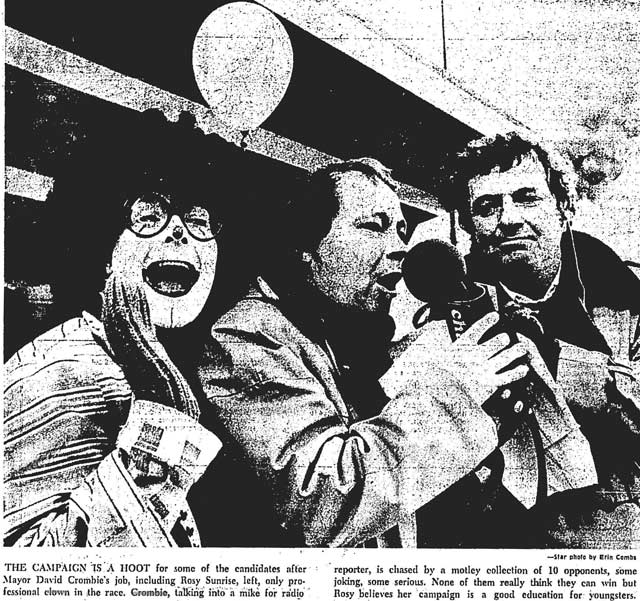 From the November 30, 1974 edition of the Toronto Star.