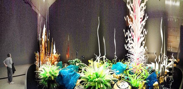 This photo of the Chihuly exhibit at the Royal Ontario Museum marks the 250,000th photo contributed to the Torontoist Flickr Pool. Photo by Dan Philips from the Torontoist Flickr Pool.