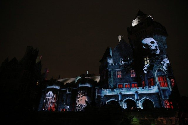 Legends of Horror at Casa Loma. Photo courtesy of Liberty Entertainment.