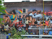 The 519 Mural on Church Street. Photo courtesy of Christiano De Araujo.