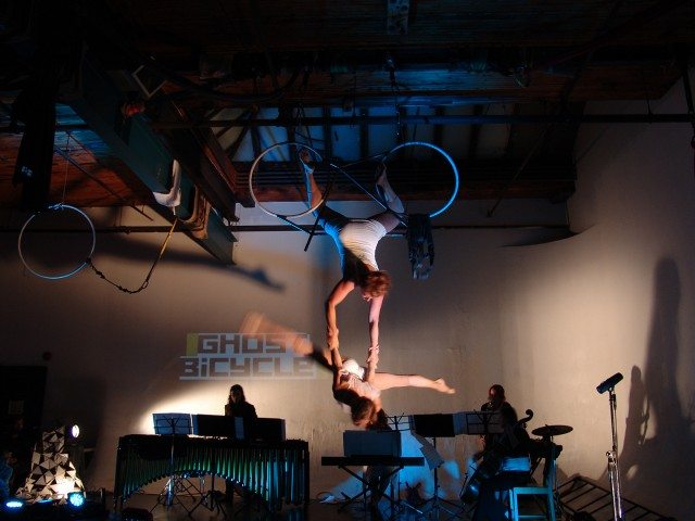 A Girl In The Sky Productions previewed Balancing On The Edge at Nuit Blanche last month. Photo by Miklos Legrady.