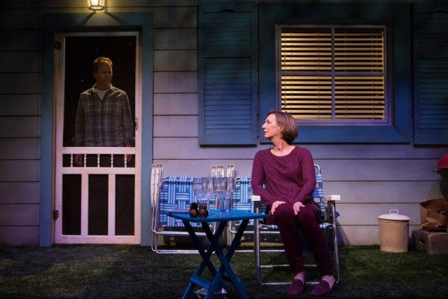 Tom Barnett and Susan Coyne in The Realistic Joneses. Photo by Cylla von Tiedemann.