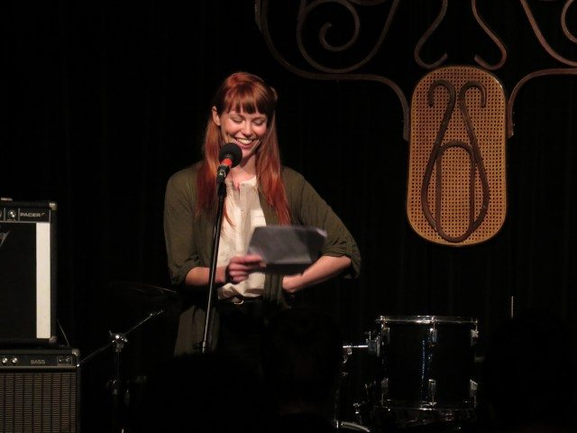 """Thea Fitz-James guests on Confabulation's """"Family Stories"""" edition tonight. Photo by Sarah Varnam."""