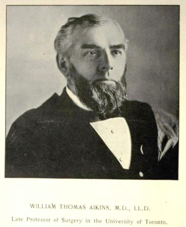 Dr. William Aikins.  University of Toronto Monthly, Vol. 2, No. 7.  April 1902.