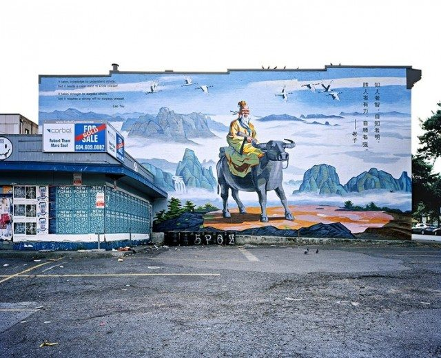 Lao Tsu Mural, photo by Morris Lum. Image courtesy of the artist.