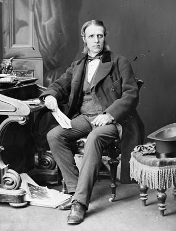 The Honourable William McDougall, September 1869, from Library and Archives Canada.