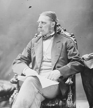 The Honourable William McDougall, June 1872, from the Library and Archives Canada.