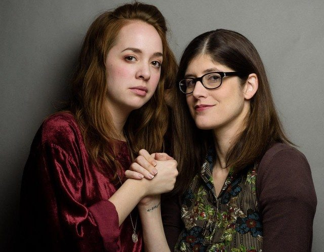 The Sufferettes (Kayla Lorette and Becky Johnson) do comedy for ghosts at the Festival of New Formats on Thursday, and comedy for people on Saturday. Detail of a photo by Kristina Laukkanen.
