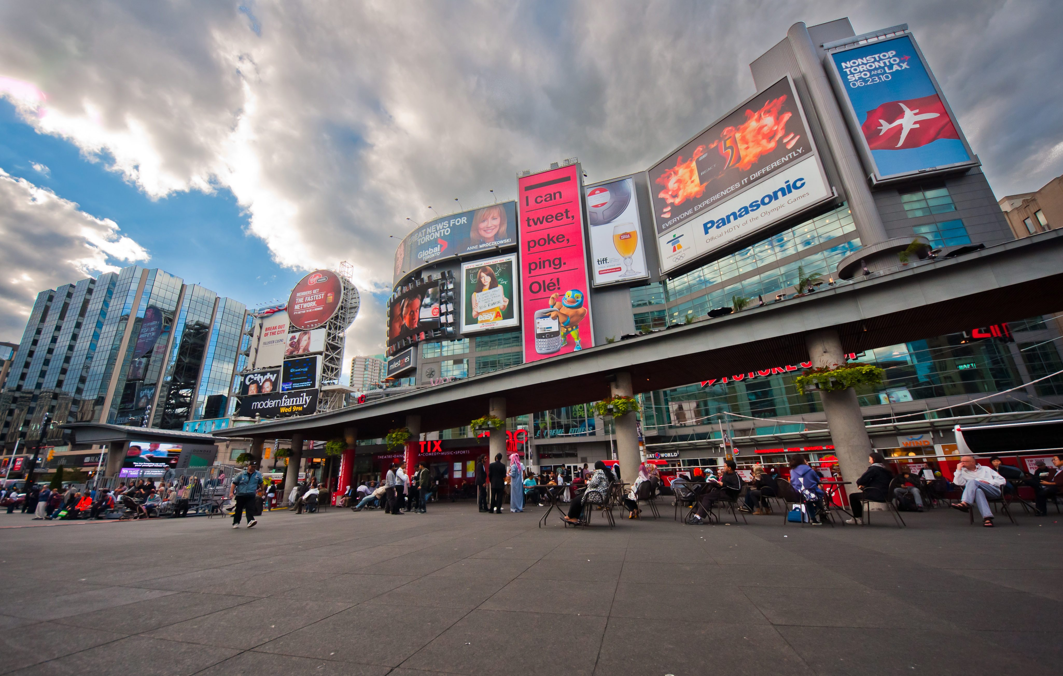 Why Yonge-Dundas Square Struggles as Public Space