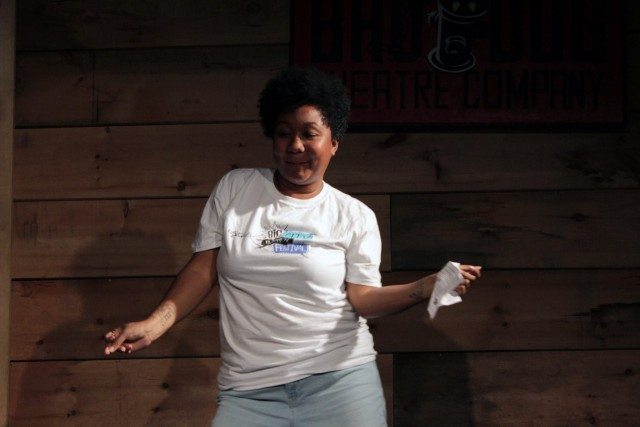 Coko Galore is one of eight core performers taking part in 24 Hours of Improv, starting tonight, with dozens of special guests. Photo by Justine Cargo.