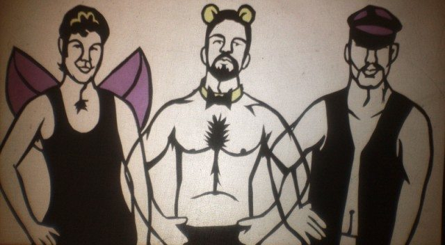 A still from the shadow puppet film Gay & Night. Photo courtesy of Lauren Hortie and Sonya Reynolds.