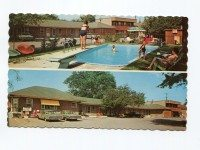 The Merry Macs motel, 374 Kingston Road, on a postcard in1962. Photo Courtesy of the Scarborough Historical Society. Provided by Scarborough Arts.