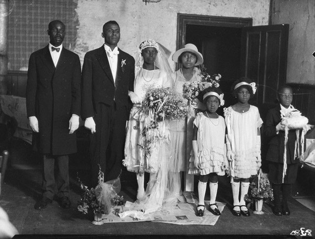 Wedding of J.M. Williams and Rachel Stephenson, July 28, 1926. City of Toronto Archives, Globe and Mail fonds, Fonds 1266, Item 8380. More on this image.