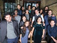The 2017 Bob Curry Fellows perform tonight at Second City Toronto. Photo by Paul Aihoshi.