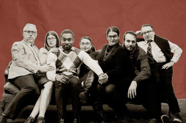 Strike is new improv company The Assembly's feature troupe. Photo by Peter Stelmach.