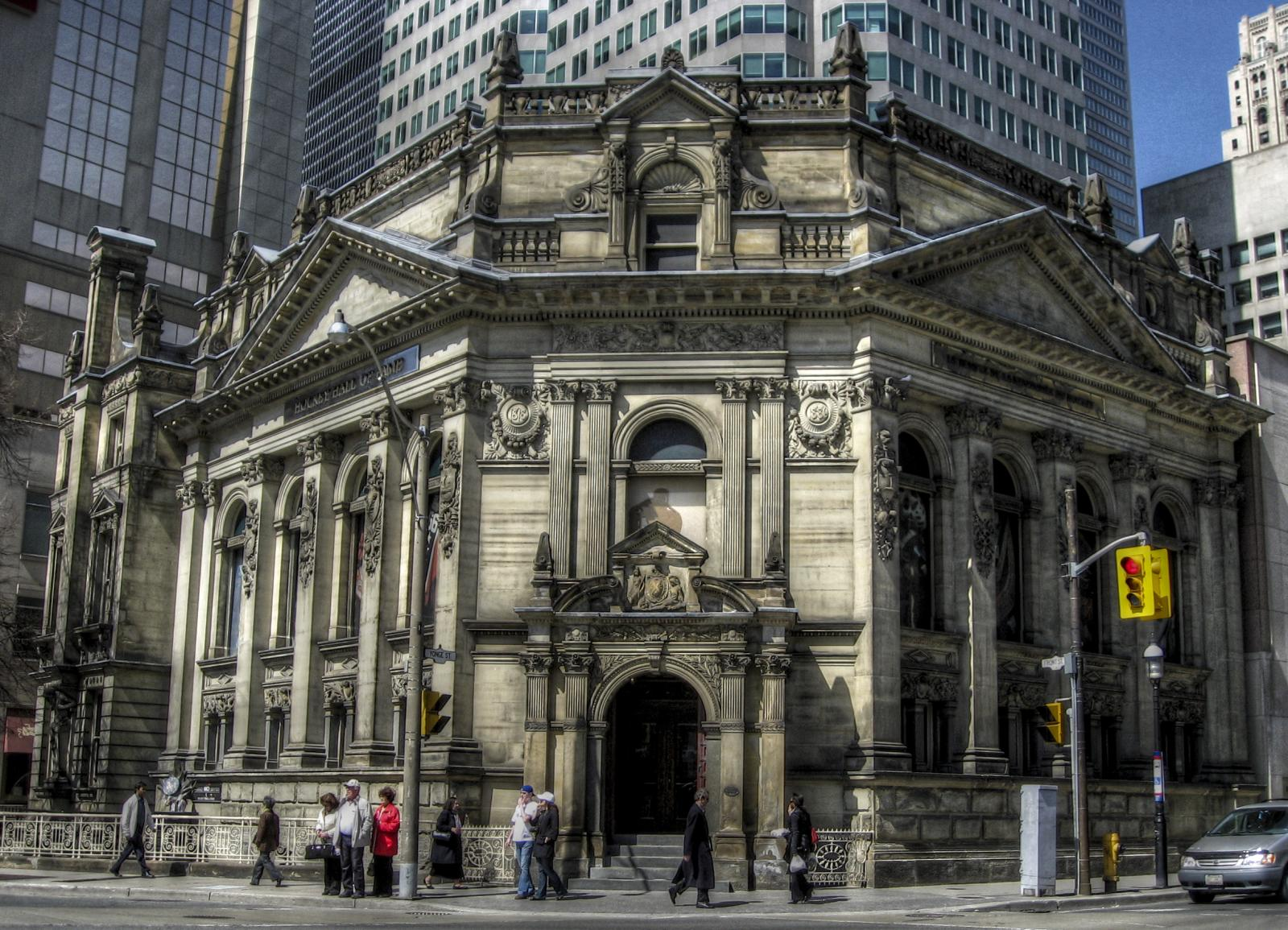 The Hockey Hall of Fame in Toronto. Photo by -Astin- in the Torontoist Flickr Pool.