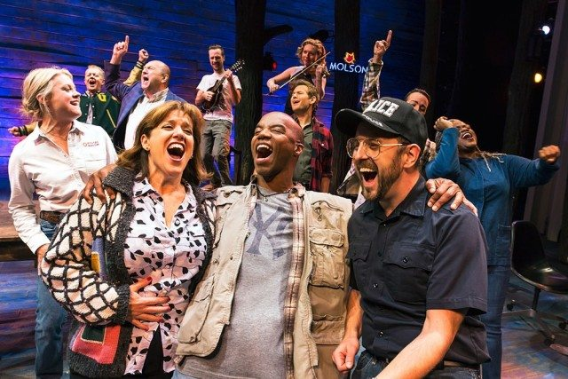 The Toronto-created Come From Away has won three major Toronto Theatre Critics Awards. Photo by Matthew Murphy.