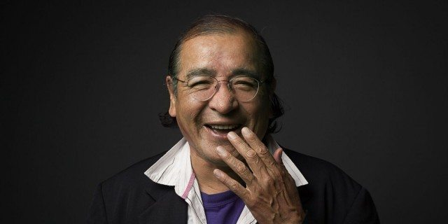 Tomson Highway. Photo by Sean Howard.
