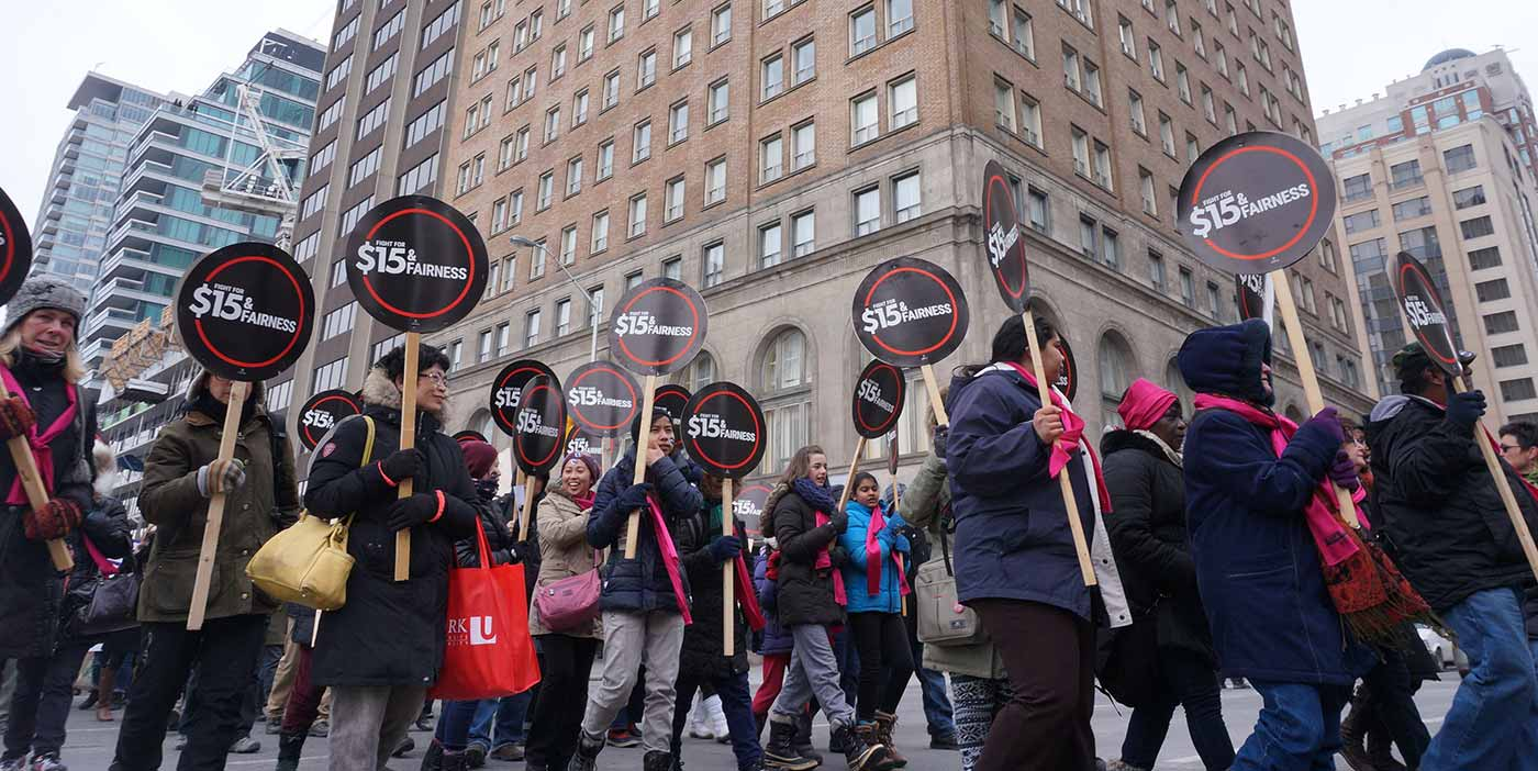 Photo courtesy of Fight for $15 & Fairness