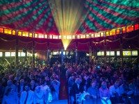 The Spiegeltent returns to Toronto as part of Luminato this year. Photo by Thiery Franco.