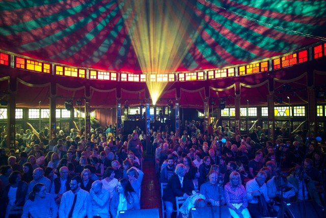 The Spiegeltent returns to Toronto as part of Luminato this year. Photo by Thierry Franco.