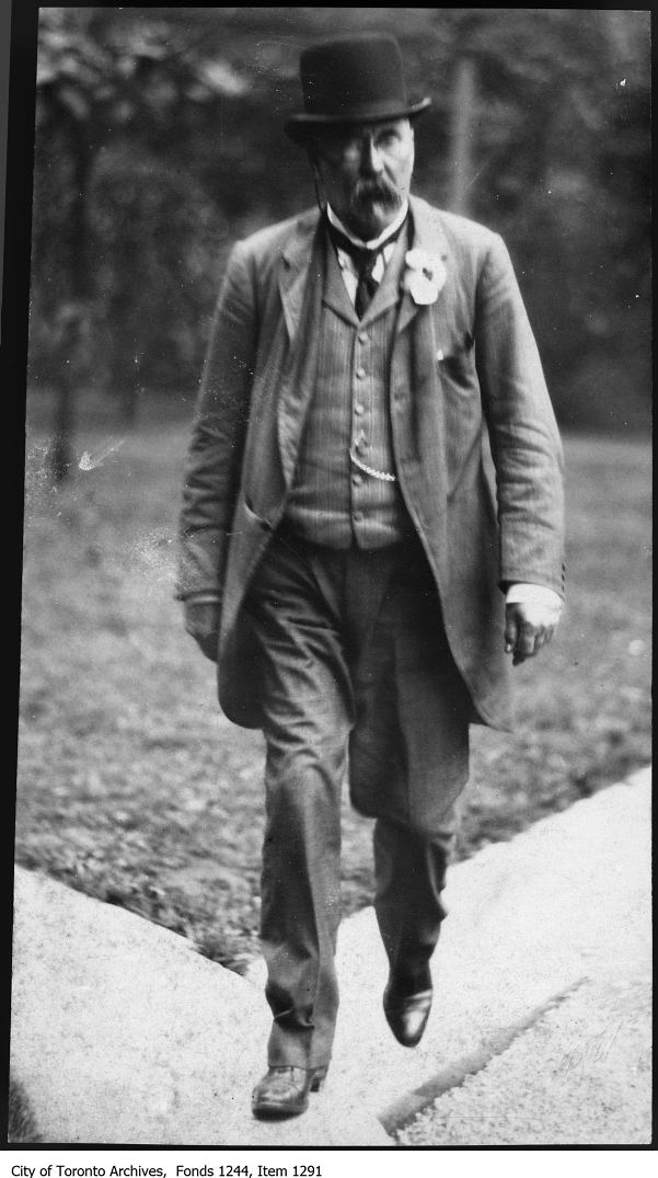Edmund Osler c. 1912. Photo from the City of Toronto Archives Fonds 1244, Item 1291.