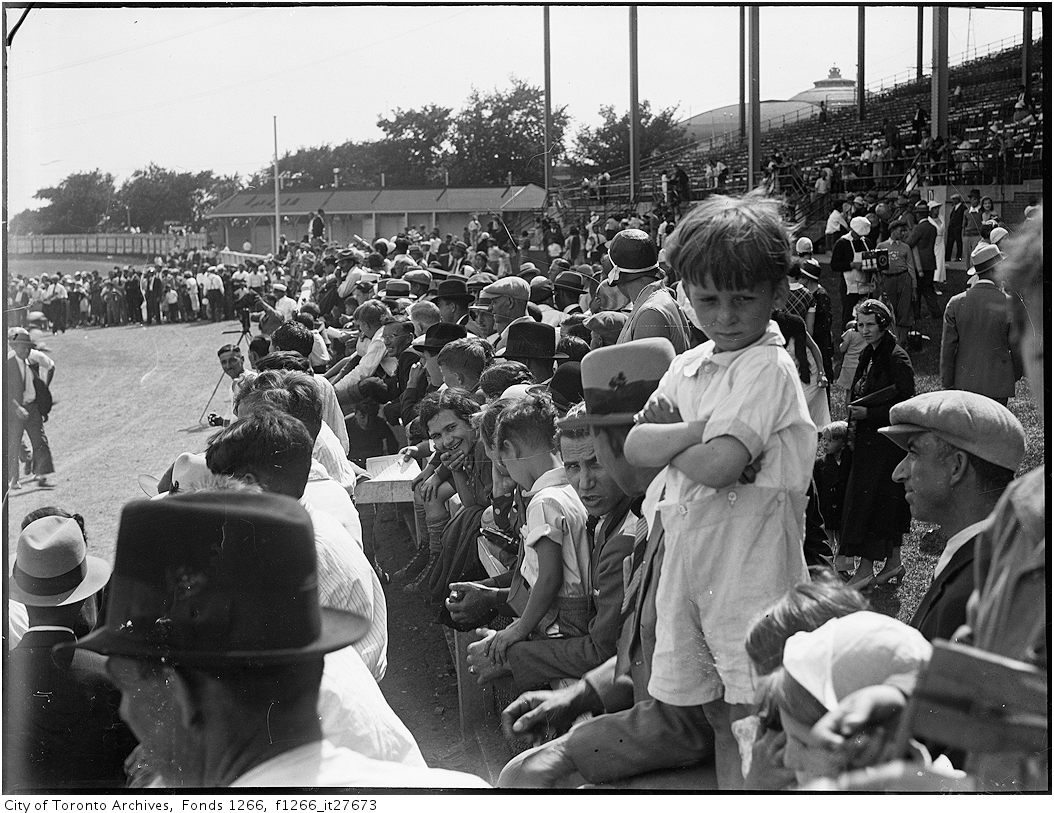 The Italian Picnic in Toronto, August 1 1932. Photo from the City of Toronto Archives, Globe and Mail fonds, Fonds 1266, Item 27673.
