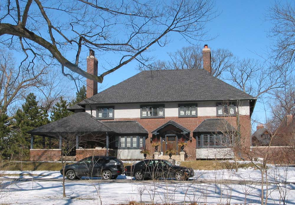 The E.A. DuVernet house at 16 Wychwood Park. Photo by Bob Krawczyk and used courtesy of the Architectural Conservancy Ontario.