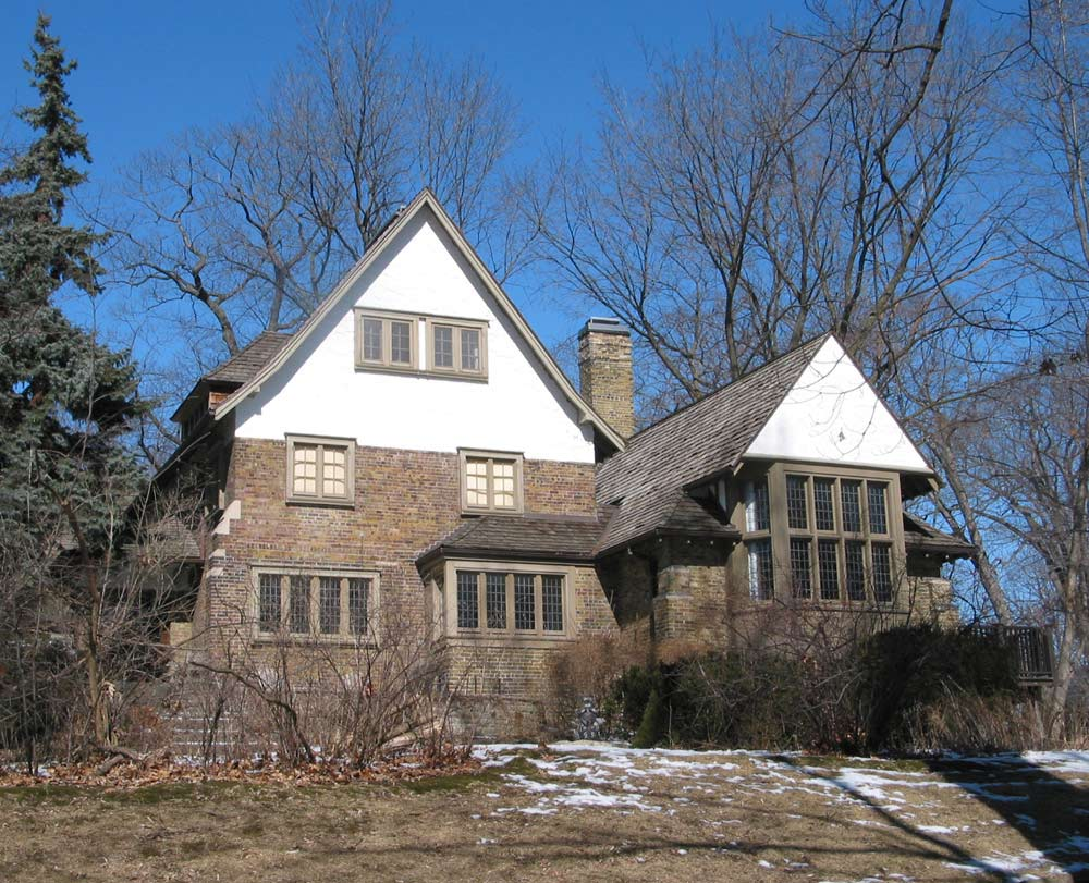 The Smith family home at 5 Wychwood Park. Photo by  Bob Krawczyk and used courtesy of the Architectural Conservancy Ontario.