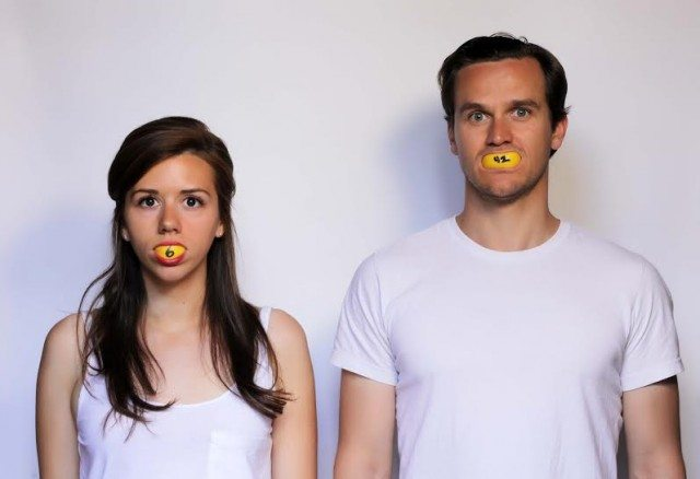 Ruth Goodwin and James Graham in Lemons Lemons Lemons. Photo by Dan Abramovici.