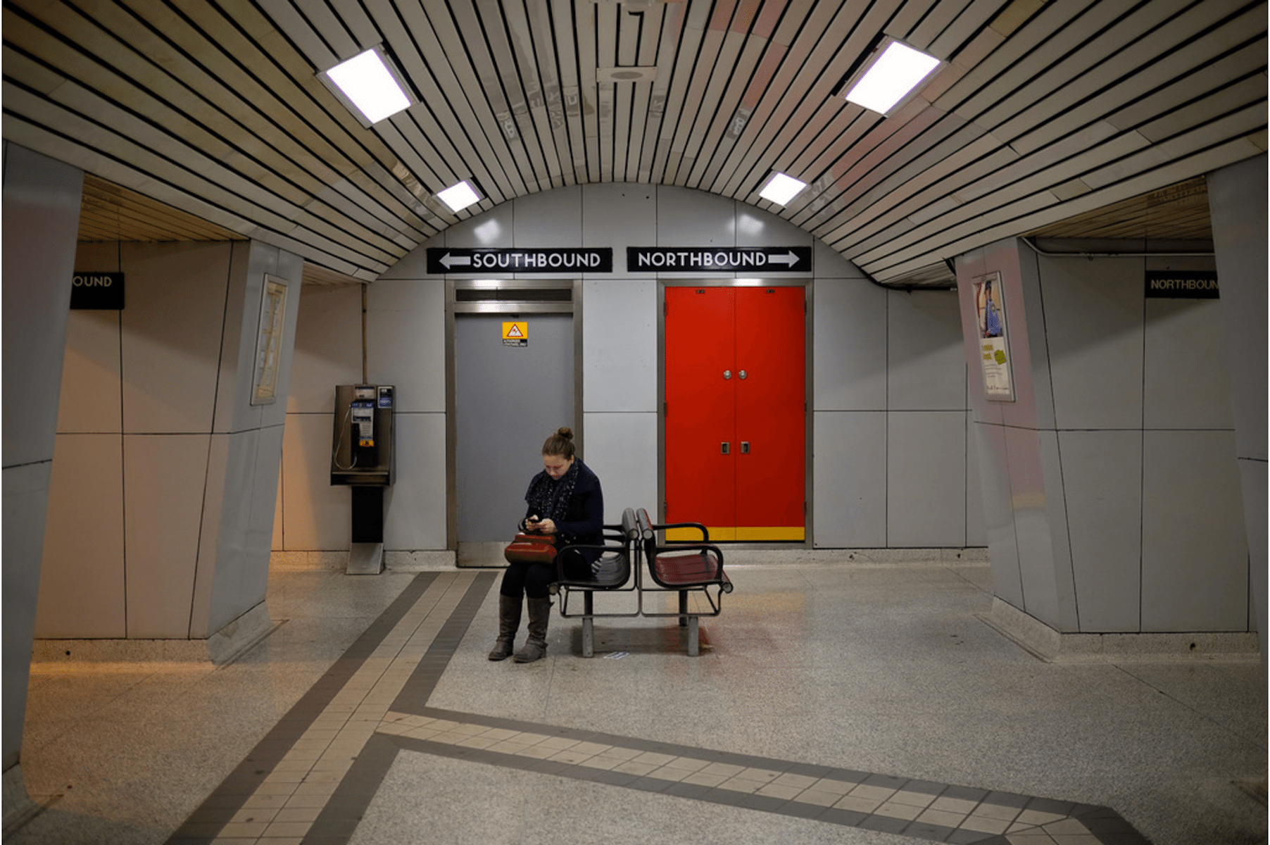 For women, riding the TTC can be an exercise in avoiding unwanted attention. Photo by Jason Cook in the Torontoist Flickr Pool.