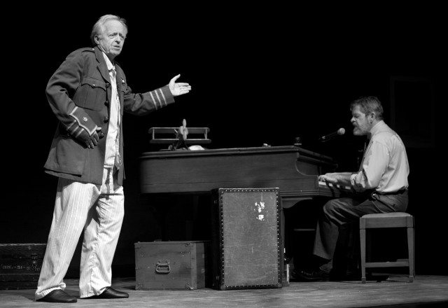 Eric Peterson and John Gray are back for Billy Bishop Goes To War. Photo by Cylla von Tiedemann.