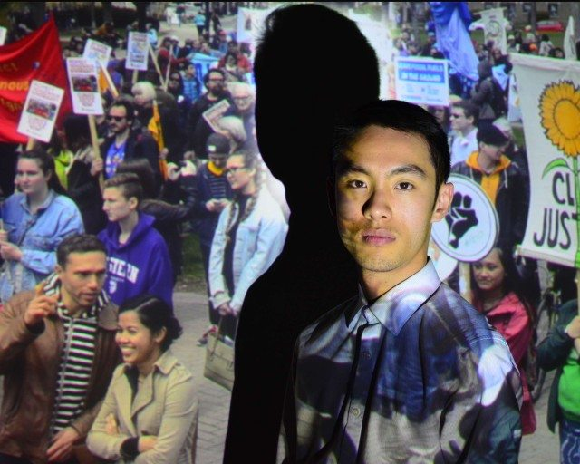 Kevin Matthew Wong, producer and co-creator of the Chemical Valley Project. Photo by Julia Howman. Image courtesy summerworks.ca
