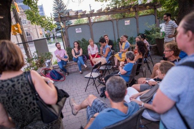 A previous group discussion. Image courtesy summerworks.ca.