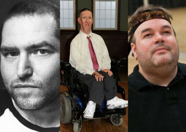 (l-r) Andrew Gurza, Ken Harrower and Frank Hull of Boys with Chairs. Image courtesy summerworks.ca